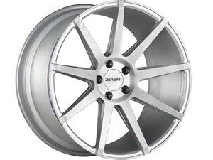 "ES#3074968 - ESQ2290SV53045kt - 22"" Esquire Style Wheels - Set Of Four - 22""x9"" ET45 71.6CB 5x130 Brushed Silver - Zenetti - Audi Volkswagen"