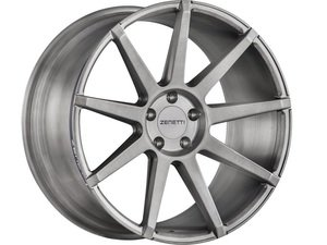 "ES#3072588 - ESQ2205TB51230kt - 22"" Esquire Style Wheels - Set Of Four - 22""x10.5"" ET30 66.6CB 5x112 Brushed Titanium - Zenetti - Audi"