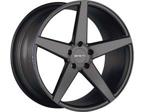 "ES#3072564 - BAR2090BL51225kt - 20"" Baron Style Wheels - Set Of Four - 20""x9"" ET25 66.6CB 5x112 Satin Black - Zenetti - Audi"