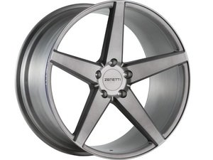 "ES#3072574 - BAR2005TB51230kt - 20"" Baron Style Wheels - Set Of Four - 20""x10.5"" ET30 66.6CB 5x112 Brushed Titanium - Zenetti - Audi"