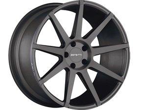 """ES#3072594 - ESQ2290BL51235kt - 22"""" Esquire Style Wheels - Set Of Four - 22""""x9"""" ET35 66.6CB 5x112 Satin Black - Zenetti - Audi"""