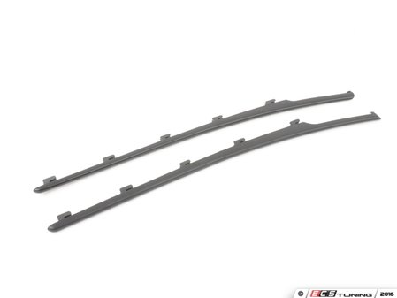 ES#3023061 - BM-0203 - Fender Grille Trim Blackout Kit - Matte Black - Add style and individuality to your vehicle in minutes! - AUTOTECKNIC - BMW