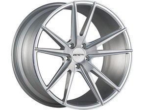 "ES#3072650 - VEN2005SV51230kt - 20"" Venice Style Wheels - Set Of Four - 20""x10.5"" ET30 66.6CB 5x112 Brushed Silver - Zenetti - Audi"