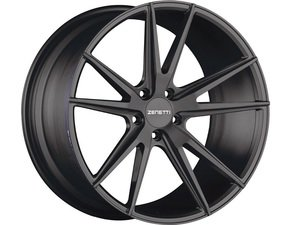 "ES#3072648 - VEN2005BL51230kt - 20"" Venice Style Wheels - Set Of Four - 20""x10.5"" ET30 66.6CB 5x112 Satin Black - Zenetti - Audi"