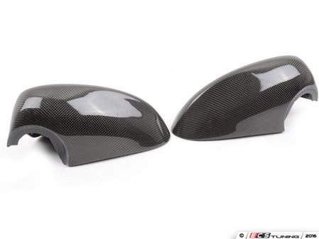 ES#3023044 - BM-0150 - Mirror Cover Caps - Carbon Fiber - Direct replacement for your factory mirror caps - AUTOTECKNIC - BMW