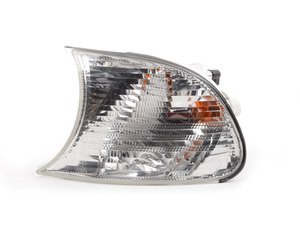 ES#3031764 - 63126904307 - Front Left White Turn Signal  - Clear/White turn signal assembly - Automotive Lighting - BMW