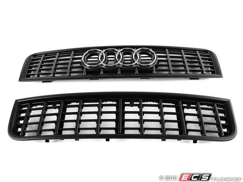 ECS News - Audi B6 A4/S4 Blackout Grille Kit