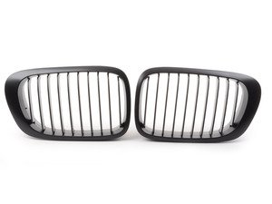 ES#3023022 - BME-1601-2111 - Blackout Grille Set - Matte Black - Add style and individuality to your BMW in minutes - ECS - BMW