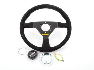 ES#3027342 - TMS301059 - MOMO MOD.78 Steering Wheel - 330mm - Customize your driving experience with this fine suede steering wheel - MOMO - Audi BMW Volkswagen Mercedes Benz MINI Porsche