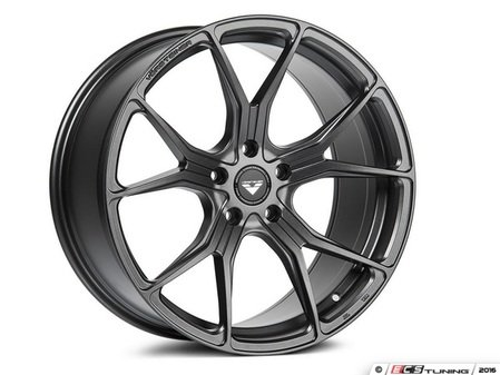 "ES#3075984 - 10320MBW218Fkt - 20"" V-FF 103 Style Wheels - Set Of Four - 20""x9"" ET28 66.6CB 5x112 Mystic Black - Vorsteiner - Audi BMW"