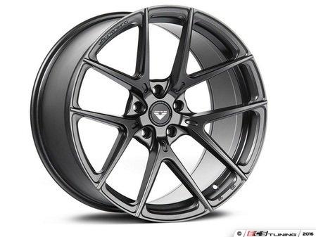 """ES#3076109 - 10119GM997NBFkt - 19"""" V-FF 101 Style Wheels - Set Of Four - 19""""x8.5"""" ET45 71.5CB 5x130 Carbon Graphite - Vorsteiner - Audi Volkswagen Porsche"""