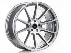 "ES#3075836 - 10220SBB8S4Fkt1 - 20"" V-FF 102 Style Wheels - Set Of Four - 20""x9.5"" ET37 57.1CB 5x112 Brushed Aluminum - Vorsteiner - Audi"