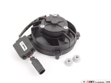 ES#3028713 - 32416857718KT1 - P/S Pump Cooling Fan Kit - w/o Bracket & Grille for the Power Steering : with install hardware - Assembled By ECS - MINI