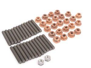 ES#3418805 - TEN3649SK1KT1sKT - Manifold Stud/Nut Kit - Replace broken or missing studs with this kit - Assembled By ECS - BMW