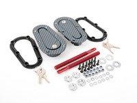 ES#3024303 - 120-3100 - AeroCatch 120 Series Carbon Fiber Finish Hood Pins - Locking - Locking hood pin kit with a modern twist - AeroCatch - Volkswagen