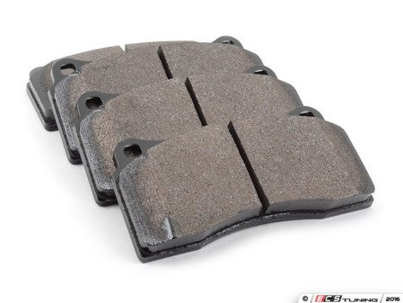 ES#2748696 - HB193B.670 -  HPS 5.0 Performance Brake Pad Set - Next generation high performance street brake pad offering greater stopping power and pedal feel, with very low dust and noise - Hawk - Audi