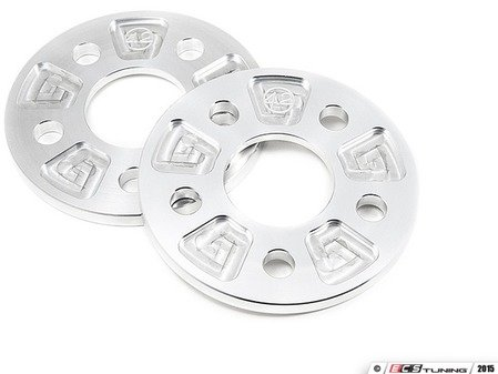 ES#3080703 - 7822377 - 42 Draft Designs Wheel Spacers - 8mm (1 Pair)- No Lip - Exclusively built for your Volkswagen or Audi - 5x112 - 42 Draft Designs - Volkswagen