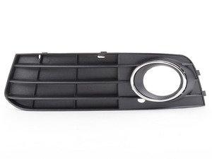ES#2771463 - 8K0807681A01C - Fog Light Grille - Satin Black - Left - Keep your exterior looking clean - Bremmen Parts - Audi