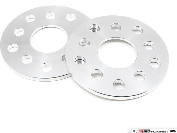 ES#3077275 - 2755311 - 42 Draft Designs Dual-Drilled Wheel Spacers - 8mm (1 Pair) - No Lip - Exclusively built for your Volkswagen or Audi - 5x100/5x112 - 42 Draft Designs - Audi Volkswagen