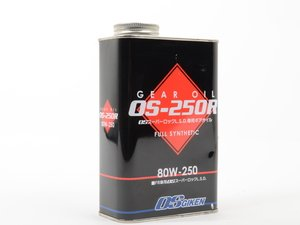 ES#3024596 - OS250R - OS Giken Limited Slip Differential Fluid - 80w-250 - 1 liter - Used in certain applications that require this weight of fluid - OS Giken -