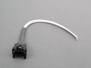 ES#2090785 - 4454 - Fuel Injector Connector Complete With Cables And Dust Boot ( Raplace Bosch 1-287-013-003 Loose Kit ) - MTC -
