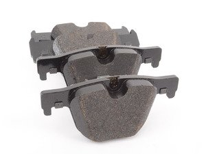ES#3024532 - 34206799813 - Rear Brake Pad Set - Genuine brake pads direct from BMW - Textar - BMW
