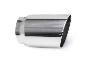 "ES#3508495 - EX-91-71WPL - 3.5"" Polished Single Wall Exhaust Tip (3.0"" Weld-On) - 42 Draft Designs - Audi BMW Volkswagen"