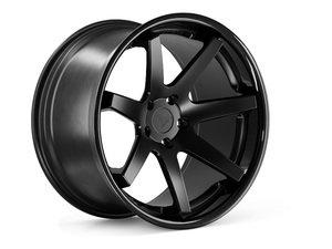 "ES#3082470 - FR1201155112Bkt - 20"" FR1 Style Wheels - Set Of Four - 20""x11.5"" ET30 57.1CB 5x112 Matte Black with Gloss Black lip - Ferrada Wheels - Audi"