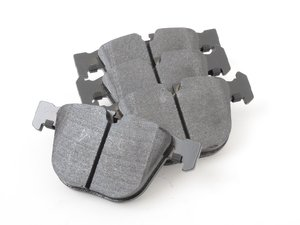 ES#2834441 - HB630R.626 - Rear High Performance Brake Pad Set - Street Race - Ideal for those who want a performance pad worthy of track day and street driving - Hawk - BMW