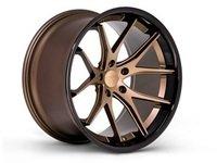 "ES#3083619 - FR2201055112Zkt3 - 20"" FR2 Style Wheels - Set Of Four - 20""x10.5"" ET28 66.6CB 5x112 Matte Bronze with Gloss Black lip - Ferrada Wheels - Audi"