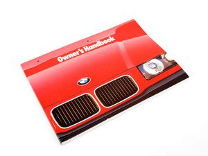 ES#13111 - 01419787671 - Owner's Manual - Full of useful information and specifications - Genuine BMW - BMW