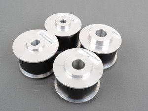 ES#3028125 - TDR4680001 - Delrin/Aluminum Rear Subframe Bushing Set  - Designed to meet the strict regulations of Grand-Am, BMW CCA, and other racing series where a solid aluminum mount is not allowed. - Turner Motorsport - BMW