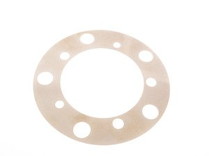 ES#2993948 - 31108053073 - Brake rotor backing shim - priced each - located behind brake rotor - Genuine BMW - BMW