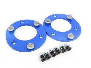 ES#3028303 - TSU3080459 - Front Fixed Camber Plates - Street/Track - Simply and inexpensively adds .75 degrees of needed negative camber for reduced understeer and reduced tire wear - Turner Motorsport - BMW