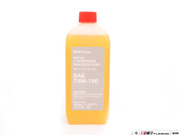 ES#197413 - 83222282583 - Motorsport Rear Differential Fluid (SAF-XJ+FM) - .5 Liter - Includes friction modifiers to reduce noise during low speed cornering. Featuring a new translucent bottle from BMW. - Genuine BMW - BMW