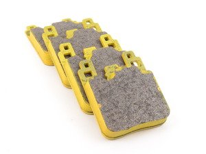 ES#3546122 - 4933RSL1 - RSL1 Yellow Endurance Racing Brake Pads - Rear - Popular street and endurance racing pad with slightly higher friction levels than RSL29 pads. Same friction material used in several European racing series. - Pagid Racing - BMW