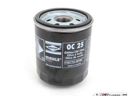 ES#3039038 - OC25 - Oil Filter - Priced Each - Keep your engine oil free of dirt and debris - Mahle - BMW