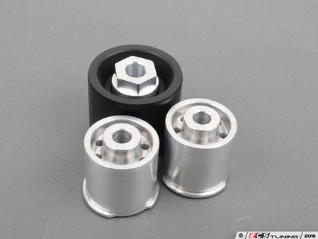 ES#3028142 - TDR9080SD1 - Rear Differential Mounts - Solid Aluminum/Delrin Race - An aggressive mount design for increased cornering feel, and improved suspension performance. - Turner Motorsport - BMW