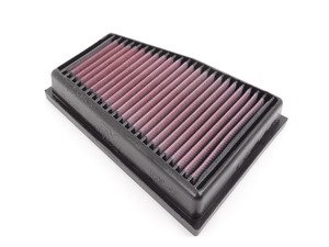 ES#3072748 - 33-3031 - Performance Engine Air Filter - Left - Drop-in high flow replacement for your vehicle - K&N - Audi
