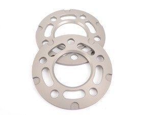 ES#3028444 - TWHF9905F03 - 7.5mm Big Pad Wheel Spacers - Silver (Pair) - Lightweight wheel spacers with a machined tab for easy removal - designed to work with modern large-pad BMW wheels! See description for details. - Turner Motorsport - BMW