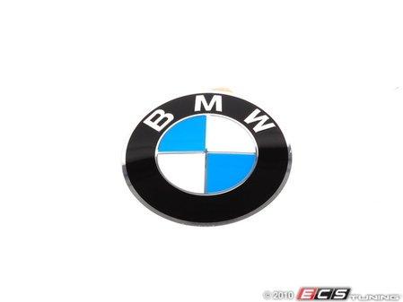 ES#65821 - 36136767550 - BMW Wheel Center Cap Emblem - 64.5mm - A replacement sticker for your center cap, flat. - Genuine BMW - BMW