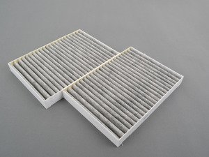 ES#3085057 - 2218300718 - Cabin Air Filter Set - One (1) Set Required Per Vehicle - Mann - Mercedes Benz