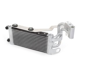 ES#2992678 - 8042 - race-spec DCT/6speed Transmission oil cooler - Dual pass transmission cooling with 30% efficiency improvement versus the OEM cooler. True plug-and-play! No modifications - just better performance! - CSF - BMW