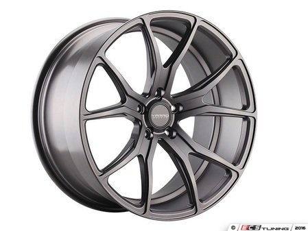 "ES#3085878 - vd01-39KT - 19"" VD01 Style Wheels - Set Of Four - 19""x8.5"" ET32 66.6CB 5x112 Matte Graphite - Varro Wheels - Audi BMW"