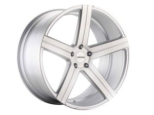 "ES#3086117 - VD05-4kt1 - 20"" VD05 Style Wheels - Set Of Four - 20""x10"" ET35 57.1CB 5x112 Matte Silver Brushed - Varro Wheels - Audi"