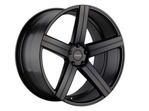 "ES#3086110 - VD05-1kt1 - 20"" VD05 Style Wheels - Set Of Four - 20""x8.5"" ET32 57.1CB 5x112 Satin Black - Varro Wheels - Audi"