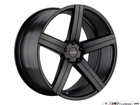 "ES#3086109 - VD05-1kt - 20"" VD05 Style Wheels - Set Of Four - 20""x8.5"" ET32 66.6CB 5x112 Satin Black - Varro Wheels - Audi BMW"