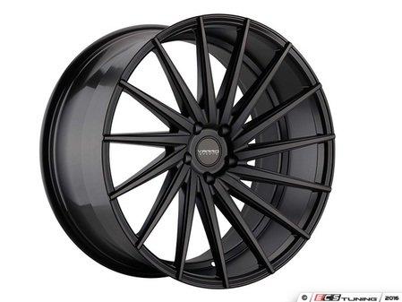 "ES#3086159 - VD15-4kt1 - 20"" VD15 Style Wheels - Set Of Four - 20""x10"" ET35 57.1CB 5x112 Satin Black - Varro Wheels - Audi"