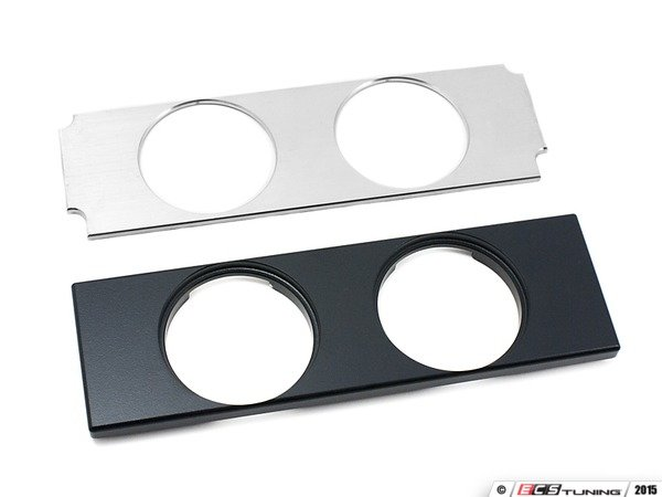 ES#3078268 - 4263089 - VW Mk4 Aluminum Double Gauge Panel - Add some style and function you your vehicle with this double gauge panel - 42 Draft Designs - Volkswagen