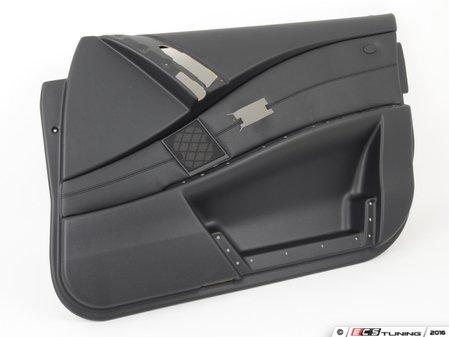 ES#99448 - 51417076192 - Black Sensatec Front Door Panel - Right - Replacement door trim panel - Genuine BMW - BMW